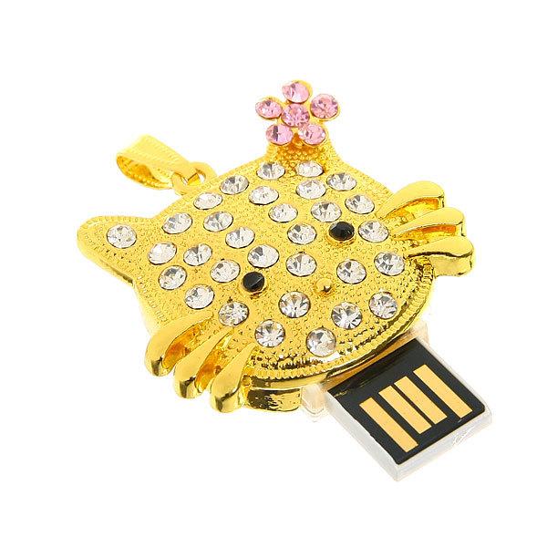 USB-флеш-накопитель со стразами(2gb) купить оптом и в розницу