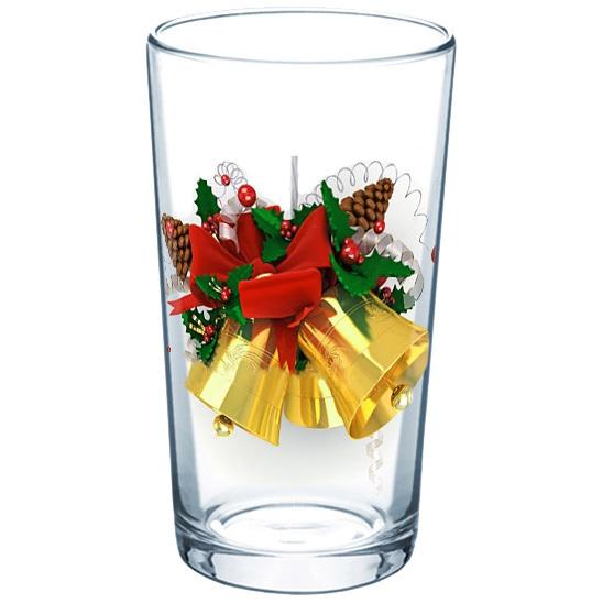 Стакан 200мл ″Новогодний подарок″ (1) купить оптом и в розницу
