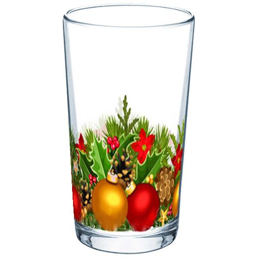 Стакан 200мл ″Новогодняя феерия″ (3) купить оптом и в розницу