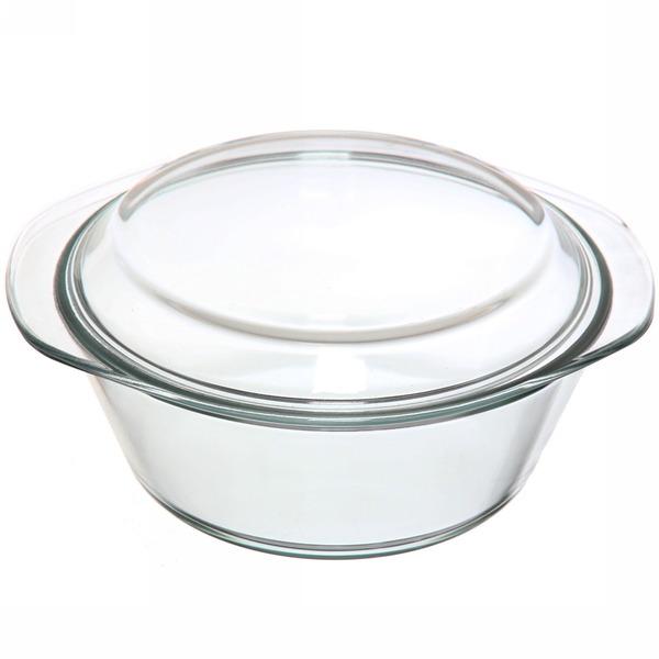 Кастрюля из жаропрочного стекла ″HELPER″ 1,8л купить оптом и в розницу