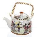 Чайник заварочный керамический 450 мл с ситом ″Гейши″ ХХ661 купить оптом и в розницу