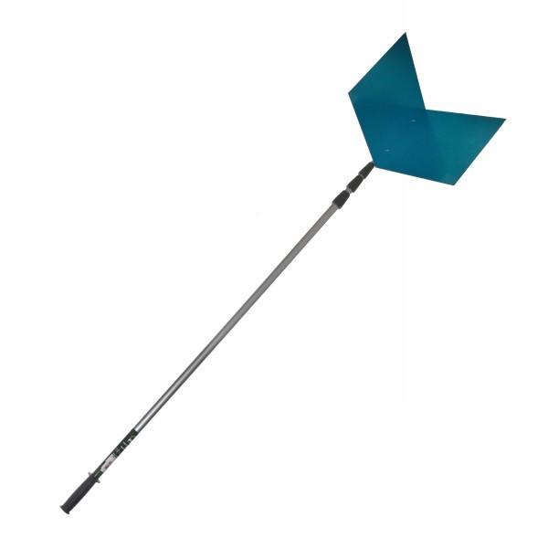 Скребок для крыши телескопический, раздвигается с 1,9 м до 6,4м, алюминий купить оптом и в розницу