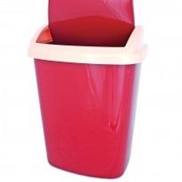 ведро д/мусора с плав. крышкой 25 л. 1/6 купить оптом и в розницу