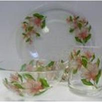 Набор посуды для завтрака ″Магнолия″ D10327/1+D10341/1+D1335/1 купить оптом и в розницу