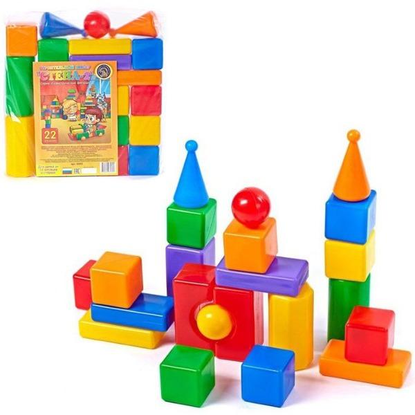 Строительный набор Стена-2 22эл. 5245 купить оптом и в розницу