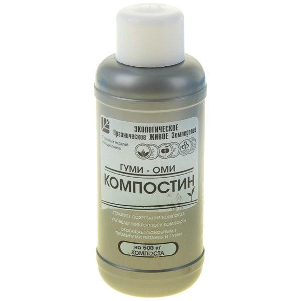 Ускоритель созревания компоста 0,5 л (жидкость) «Гуми-Оми Компостин» купить оптом и в розницу