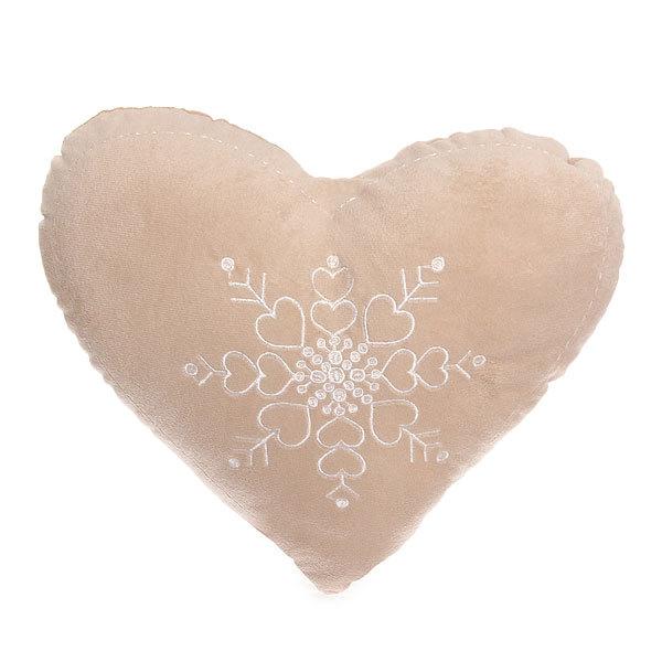 Подушка декоративная 35см ″Пряничное сердце″ купить оптом и в розницу