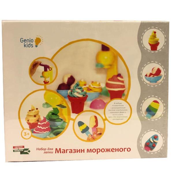 Набор ДТ Тесто для лепки Магазин мороженого TA1035 /Genio Kids купить оптом и в розницу