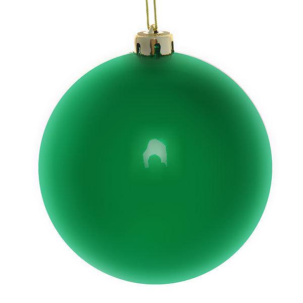 Новогодний шар ″Изумруд″ 15см купить оптом и в розницу