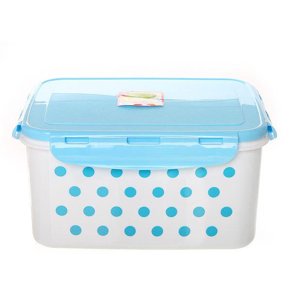 Набор контейнеров 3 шт ″Горошек″ (0,6л,1л,1,6л) Селфи (2) купить оптом и в розницу