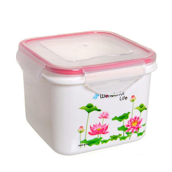 Набор контейнеров 3 шт ″Лотос″ (0,6л,1л,1,8л) Селфи купить оптом и в розницу