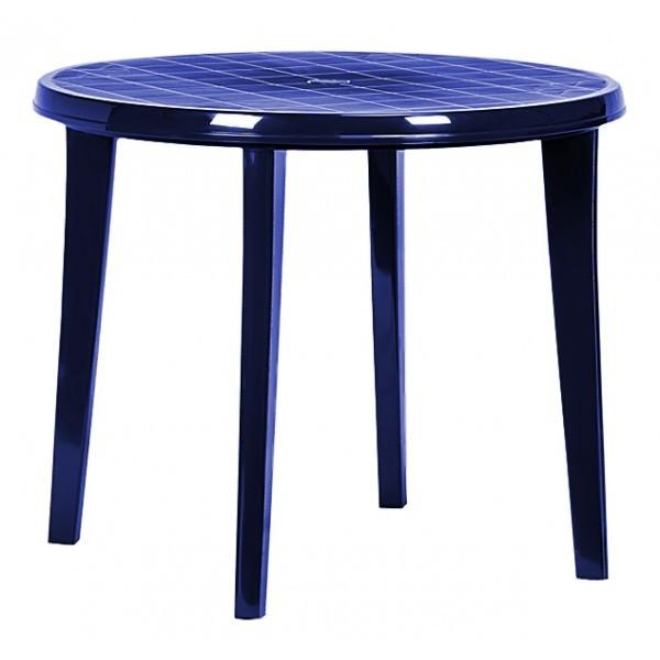 Стол LISA Curver 90х73 см синий купить оптом и в розницу