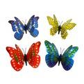 Украшение декоративное 10см Бабочка двойные крылышки на магните купить оптом и в розницу