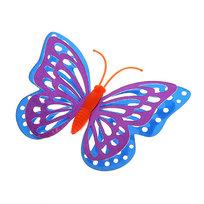 Украшение декоративное 9,5см Бабочка на магните В106 купить оптом и в розницу