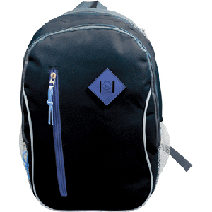 Рюкзак школьный PROFF X-line 43.5*26.5*18 см, 1 отд. на молнии, 4 внеш. карм., голубой, c орто.спинкой купить оптом и в розницу