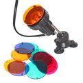 Подсветка в водоем СQD-110C (светильник-3шт, линза сменная 4 цвета -12шт) купить оптом и в розницу