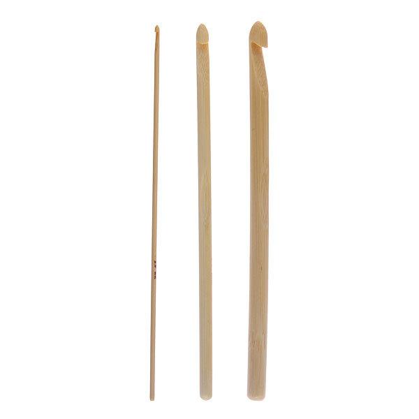 Крючок вязальный бамбуковый набор от 2,0мм до 8,0мм 12шт купить оптом и в розницу