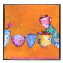 Картина-панно из пластика 30*30 см″Чашки″ купить оптом и в розницу