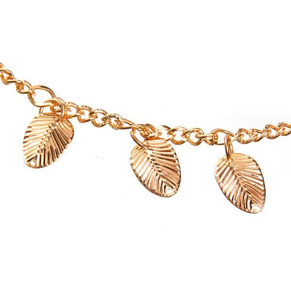 Резинка для создания греческой прически ″Листики″, цвет золото купить оптом и в розницу