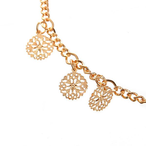 Резинка для создания греческой прически ″Снежинки″, цвет золото купить оптом и в розницу