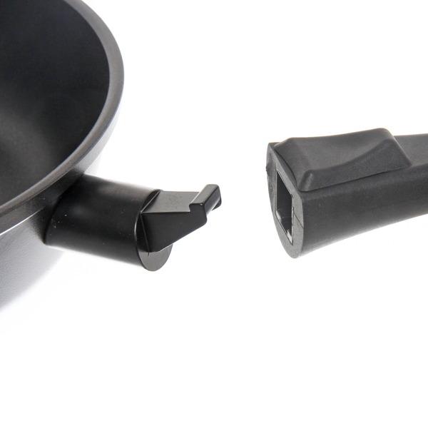 Сковорода ″GURMAN″ 26 см литой алюминий, съёмная ручка купить оптом и в розницу