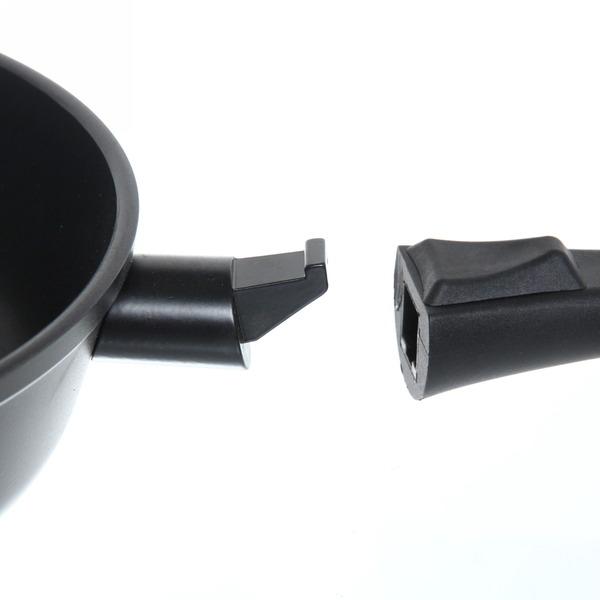 Сковорода ″GURMAN″ 28 см литой алюминий, съёмная ручка купить оптом и в розницу