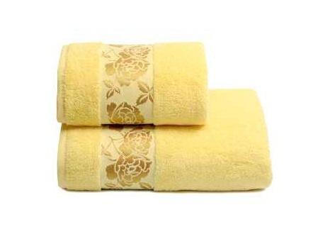 ПЦ-3501-2139 полотенце 70x130 махр г/к Gold Flower цв.406 купить оптом и в розницу