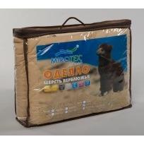 Одеяло Евро 200х220 шерсть вербл.тик в чемодане арт.148 Миромакс  купить оптом и в розницу