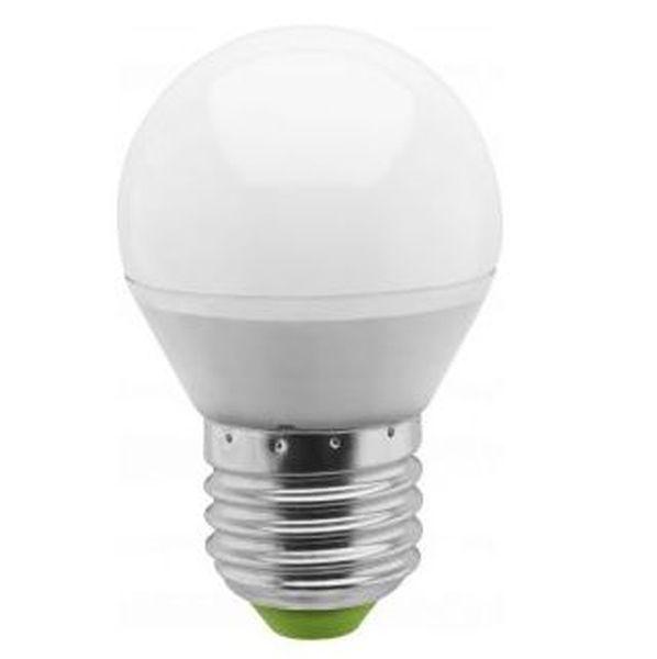 Лампа cветодиодная Navigator Standard NLL-P-G45-5-230-2.7K-E27 матов. шар,аналог 40Вт (10/100) купить оптом и в розницу
