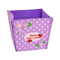 Корзинка подарочная ″Цветочный сад″ 11*10*10 см фиолетовый 02-8647D купить оптом и в розницу