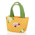 Корзинка сумочка подарочная ″Цветочный сад″ 13*9*6 см оранжевый 02-8644В купить оптом и в розницу