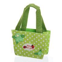 Корзинка сумочка подарочная ″Цветочный сад″ 13*9*6 см зеленый 02-8644С купить оптом и в розницу