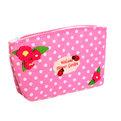 Корзинка сумочка подарочная ″Цветочный сад″ 17*10*5 см розовый 02-8651А купить оптом и в розницу