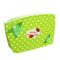 Корзинка сумочка подарочная ″Цветочный сад″ 17*10*5 см зеленый купить оптом и в розницу