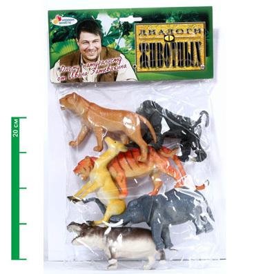 Набор животных 9901/06P дикие животные в пак купить оптом и в розницу