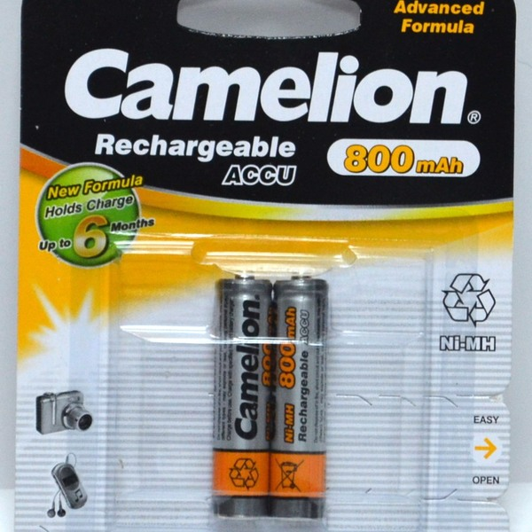 Аккумулятор Camelion R-03/AAA/ 800 mAh BL*2 купить оптом и в розницу