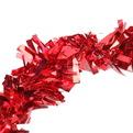 Мишура новогодняя 2 метра 10см ″Вечеринка″ красный купить оптом и в розницу