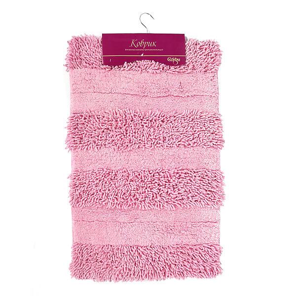 Коврик для ванны Селфи 50*80 100% хлопок E01 розовый купить оптом и в розницу