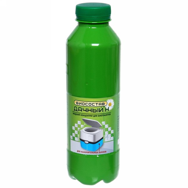 Биосостав (концентрат для накопительных бачков биотуалетов) 0,5 л ″Дачный-Н″ купить оптом и в розницу