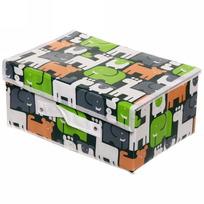 Коробка д/хранения вещей 30*20*15 Сафари купить оптом и в розницу