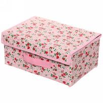 Коробка д/хранения вещей 30*20*15 Роза красная купить оптом и в розницу