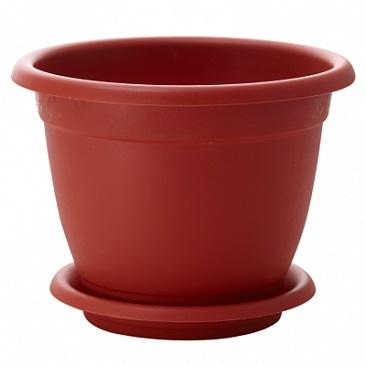 Горшок для цветов Борнео D 190 mm с подставкой №3 *40 купить оптом и в розницу