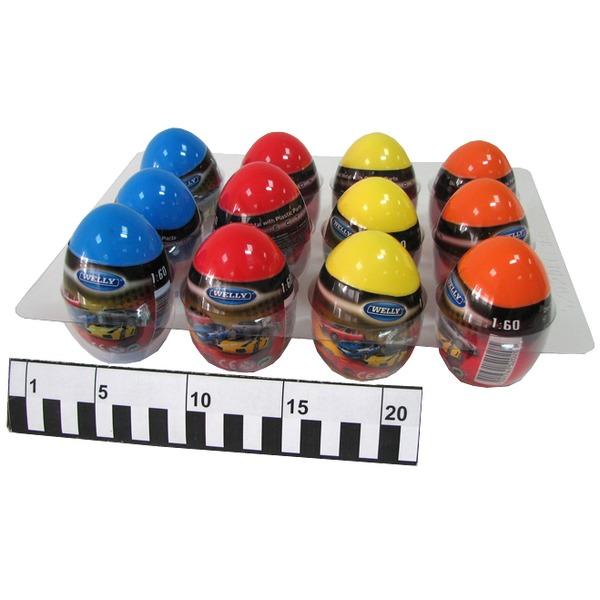 Модель яйцо-сюрприз Иномарки 1:60 52020Е купить оптом и в розницу