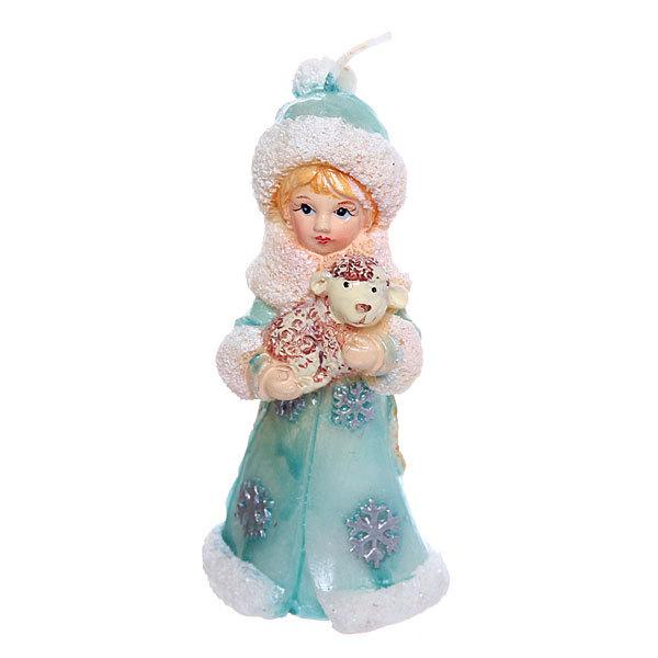 Серпантин Свеча ″Снегурочка с Овечкой″ 10*5см 12272 купить оптом и в розницу
