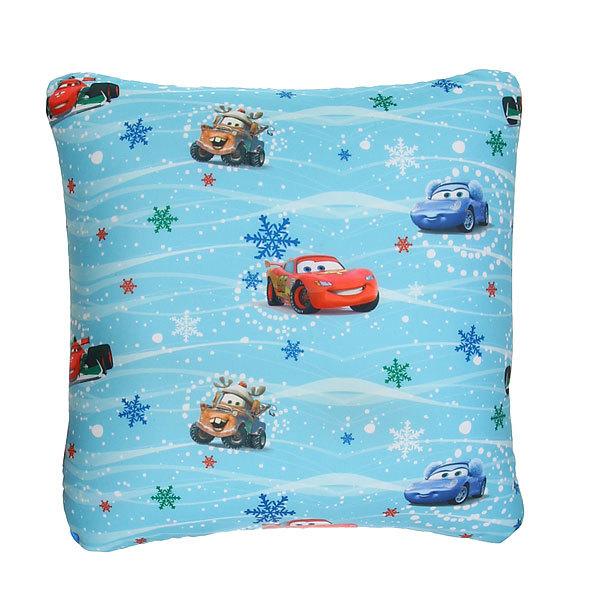 Подушка декоративная 30*30см ″Рождество Тачек″ купить оптом и в розницу