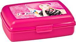 Емкость мультиснап  1,3 л MATTEL Barbie роз./ *8шт купить оптом и в розницу