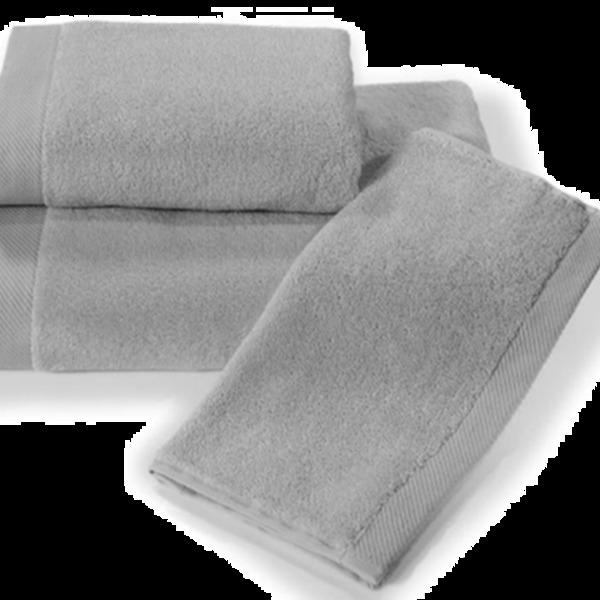 Полотенце 70х130 Spany interio Oleandr цв.серый купить оптом и в розницу