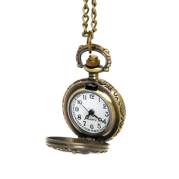 Часы винтажные на цепочке ″Бабочка″ купить оптом и в розницу
