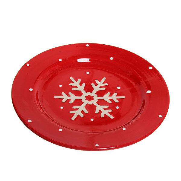 Тарелка керамическая ″Новогодняя″ в ассортименте купить оптом и в розницу
