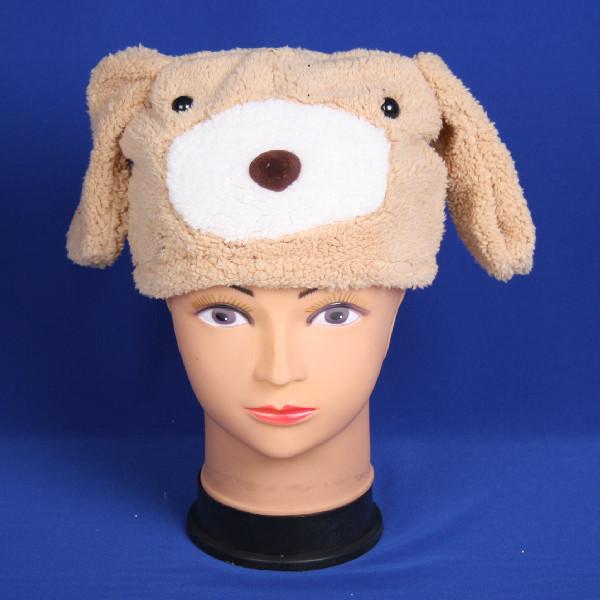 Маска-шапка карнавальная ″Собачка″ купить оптом и в розницу